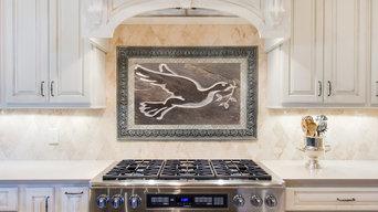 Kitchen Tile - The Dove- Custom stone tile for backsplash