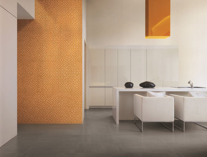 Contemporary Kitchen Kitchen Tile Trends Photography - Coverings Preview