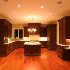 Traditional Kitchen by TLC Renovations