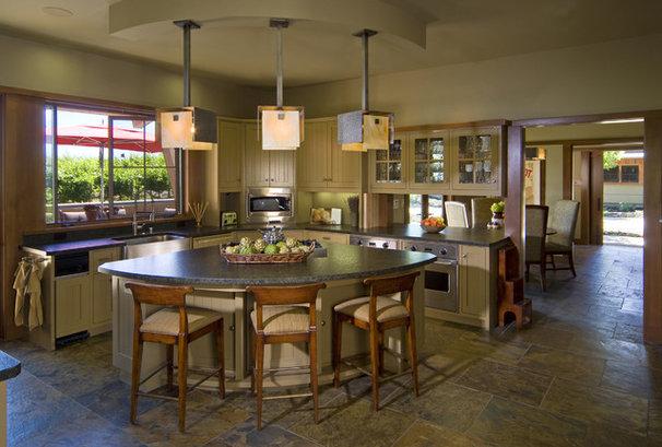 Contemporary Kitchen by Saint Dizier Design