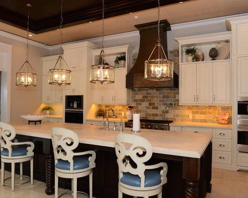 Ideas para cocinas | Diseños de cocinas con encimera de piedra ...