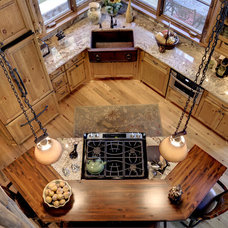 Traditional Kitchen by Lands End Development - Designers & Builders