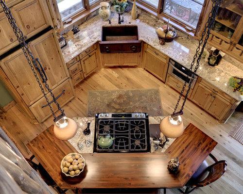 Small Corner Kitchen | Houzz