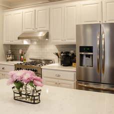 Transitional Kitchen by Blue Ribbon Residential Construction, Inc.
