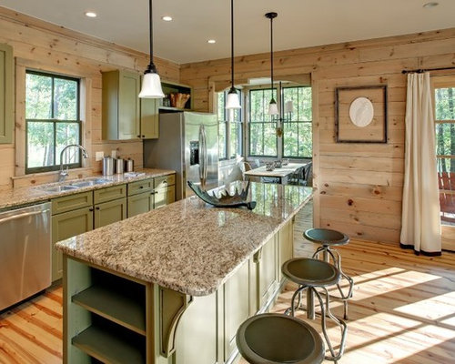 Olive Green Cabinets Home Design Ideas Pictures Remodel And Decor