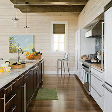 Eclectic Kitchen by Tracery Interiors