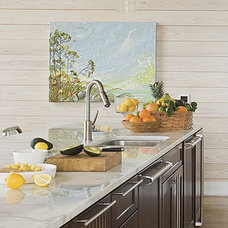Beach Style Kitchen by Tracery Interiors
