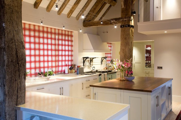 Rustic Kitchen by Brilliant Lighting