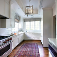 transitional kitchen by Advanced Renovations, Inc.