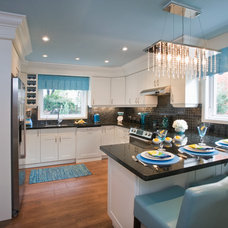 Transitional Kitchen by Darlington Group Interiors