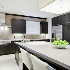 Transitional Kitchen by Sunscape Homes, Inc