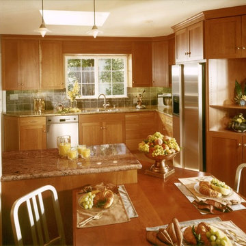 Kitchen Transformed for Young Family