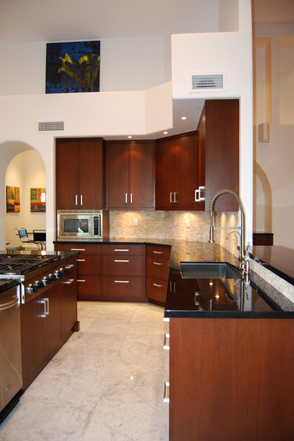Contemporary Kitchen by Troyer Kitchen and Bath