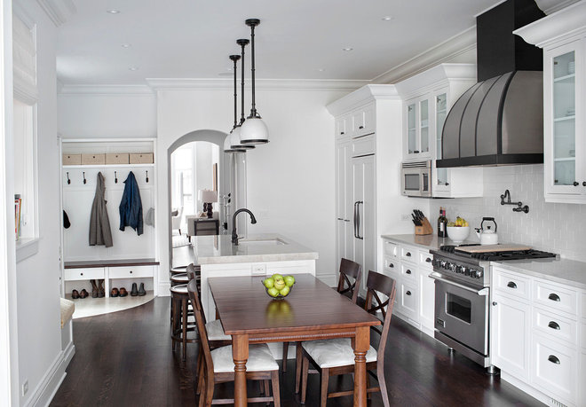 Traditional Kitchen by TZS Design