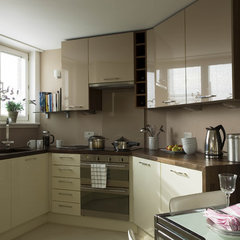 eclectic kitchen by Celia James