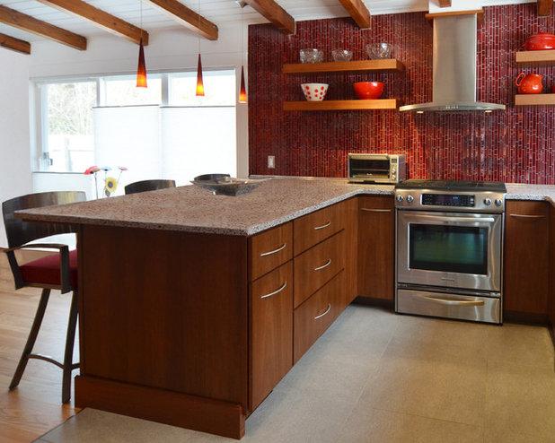 Contemporary Kitchen by Chai Design