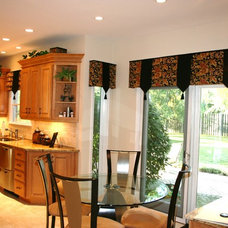 Traditional Kitchen by Window Designs by Diane