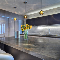 Contemporary Kitchen by Venetian Stone Gallery