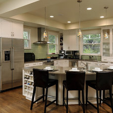 contemporary kitchen by AHMANN LLC