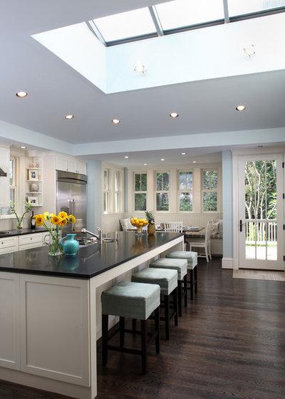 Transitional Kitchen by AHMANN LLC