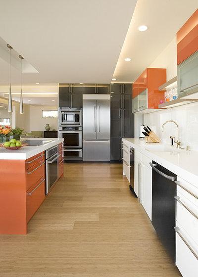 Contemporáneo Cocina by De Mattei Construction