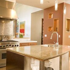 Contemporary Kitchen by Dorman Associates, Inc.