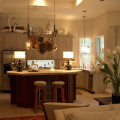 eclectic kitchen by Terri Symington, ASID