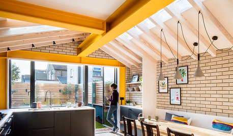 Kitchen Tour: An Edwardian Terrace Extension With a Bold Accent