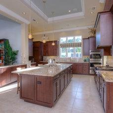 Transitional Kitchen by Villa Moda