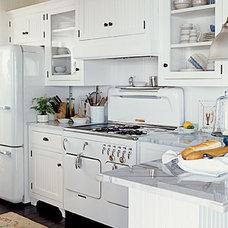 Traditional Kitchen kitchen-vintage-appliances - White
