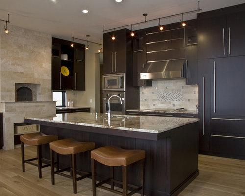 Kitchen backsplash home design ideas renovations photos for Gourmet kitchen ideas