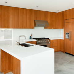 modern kitchen by Walker Workshop