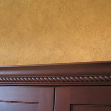 Traditional Kitchen by Bella Faux Finishes