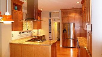 Kitchen, warm and beautiful