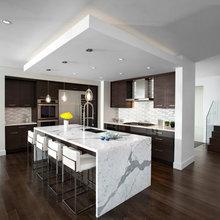 Kitchen - Dark Cabinets and floors