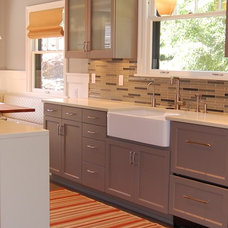 Transitional Kitchen by Weedman Design Partners