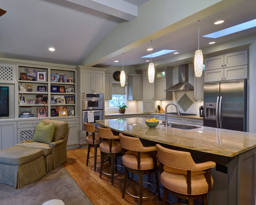 Tan Counter Home Design Ideas, Pictures, Remodel and Decor