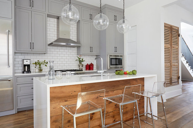 Transitional Kitchen by Wellborn + Wright