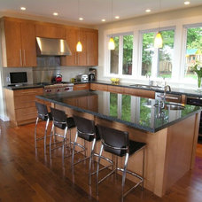 Contemporary Kitchen by Werner Construction Ltd.