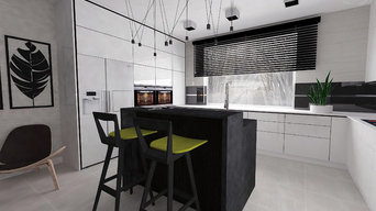 Kitchen -  white / black