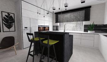 Kitchen -  white / black
