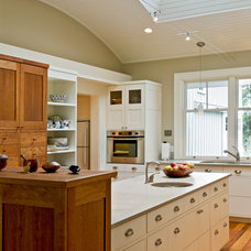 Farmhouse Kitchen by Whitten Architects