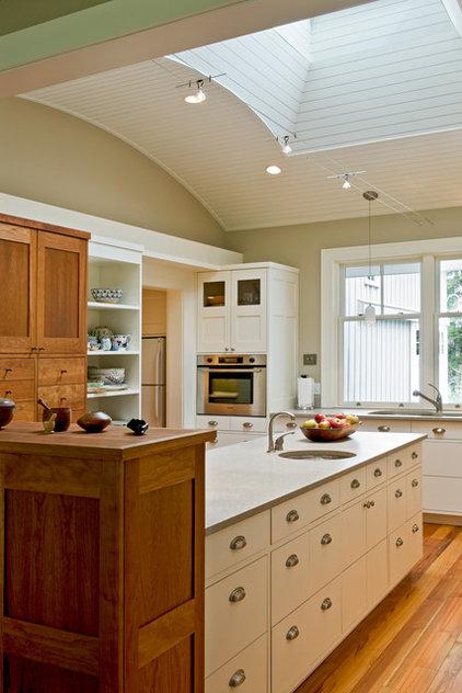 Farmhouse Kitchen by Whitten Architects