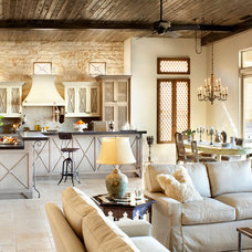 Mediterranean Kitchen by Willetts Design & Associates
