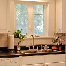 Traditional Kitchen kitchen window
