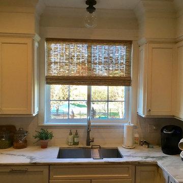 Kitchen Window Shades: Provenance® Woven Wood Shades
