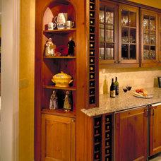 Traditional Kitchen by Benvenuti and Stein