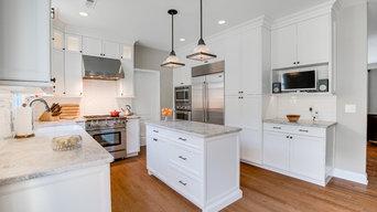 Kitchen Winter White Wonderland