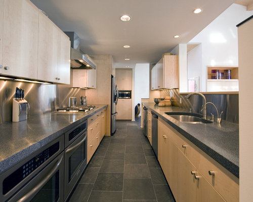 Slate look tile houzz for Looking for kitchen designs