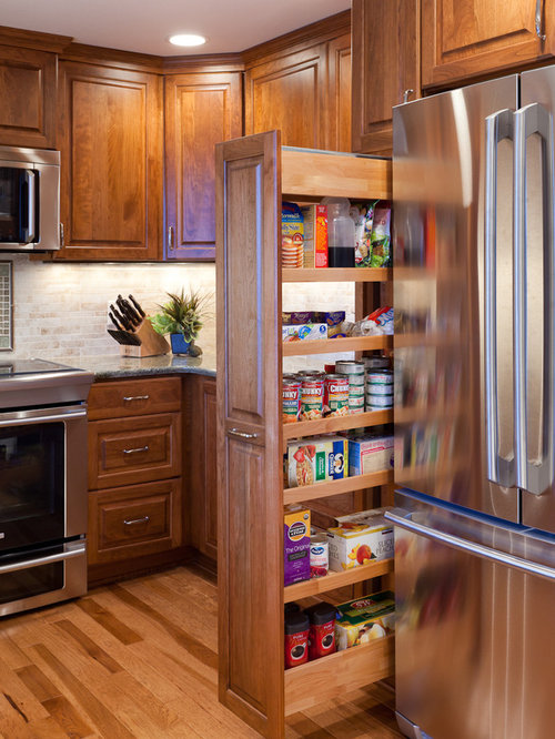 Slim Pullout Pantry Home Design Ideas, Pictures, Remodel ...